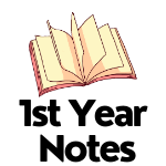 1st Year Notes